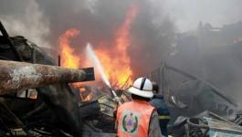 الدفاع المدني يسيطر على حريق