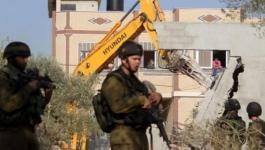 الاحتلال يخطر بهدم منزل في بيت أمر شمال الخليل