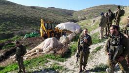 الاحتلال يستولي على 1079 دونما جنوب شرق طوباس