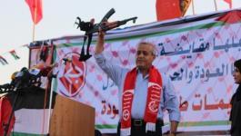 مزهر: المقاومة لن تُلقي سلاحها ومسيرات العودة مستمرة حتى تحقيق أهدافها