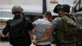 الاحتلال يعتقل مواطن.jpg