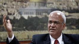 عريقات يؤكد ضرورة التضامن مع الفلسطينيين بخطوات ملموسة.jpg