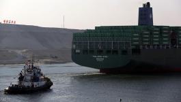 ارتفاع إيرادات قناة السويس في مارس