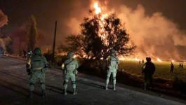 حريق المكسيك