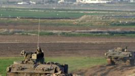 الاحتلال يطلق النيران صوب مزارعين شرق قطاع غزة.jpg
