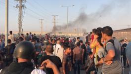 بالصور: شهيدان خلال مواجهات مع الاحتلال شمال القطاع
