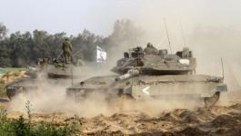 الاحتلال يستهدف نقطة رصد تتبع للمقاومة الفلسطيينة شرق المغازي.jpg
