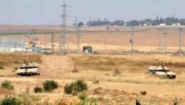 صحراء غلاف غزة