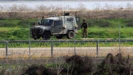 الاحتلال يعتقل فلسطينيين أثناء تسللهما عبر السياح الفاصل شمال القطاع