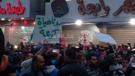 بالصور: مسيرة حاشدة بجباليا احتجاجاً على تدهور الأوضاع الاقتصادية بغزة
