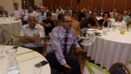 بالصور: مجمع اللّغة العربيّة يعقد مؤتمره حول الفَنّ العَرَبيّ الإسْلاميّ في الناصرة