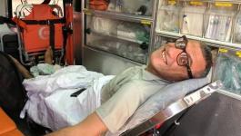 نقل الصحفي محمد البابا من غزة إلى الداخل المحتل.jpg