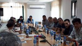 بالصور: شؤون اللاجئين بالمنظمة تُدين اقتحام رئيس بلدية الاحتلال لمخيم شعفاط