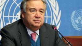 الأمين العام للأمم المتحدة يطالب المجتمع الدولي بتقديم الدعم الإنساني لغزة