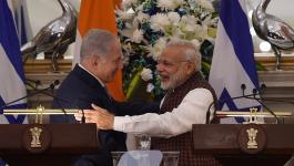 نتنياهو والهندي