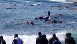 إنقاذ 44 مهاجراً قبالة السواحل التركية