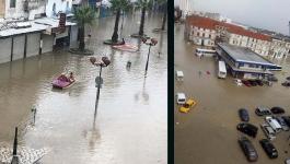 وزارة الدفاع التونسية: إجلاء 42 مواطن بعد عاصفة من الأمطار لمنازلهم