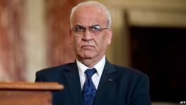 عريقات: نسعى لعقد مؤتمر دولي للسلام يضمن إقامة دولة فلسطينية