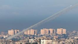 صورة: لأول مرة منذ أسابيع.. إطلاق صواريخ من غزّة صوب الأراضي المحتلة