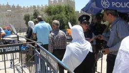 التوتر يسود محيط المسجد الأقصى عقب منع المقدسيين من دخوله والاحتلال يُعزز من تواجده