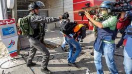 حشد يدعو إلى وقف الانتهاكات الإسرائيلية بحق الصحفيين