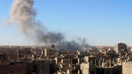الجيش الروسي يؤكد قصف مقاتلات