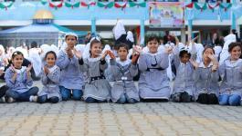 الأونروا تعزز أنشطتها الرياضية بين الفتيات في غزة.jpg