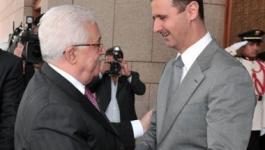 رسالة خطية من الرئيس عباس إلى نظيره السوري