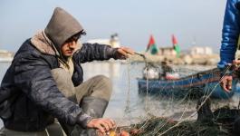 سلطات الاحتلال يقرر توسيع مساحة الصيد في بحر قطاع غزة