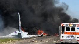 مصرع 9 أشخاص في تحطم طائرة أمريكية