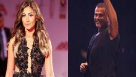 أول رد فعل لدينا الشربيني بعد أقاويل زواجها السري من عمرو دياب!!