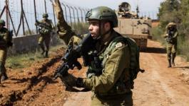 قوات الاحتلال شرق غزة.jpg