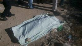 العثور على جثة مواطن مقتولاً وسط القطاع.jpg