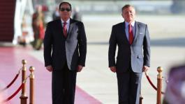 السيسي والملك عبد الله