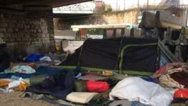 إجلاء 2500 مهاجر يقيمون في باريس بظروف صعبة.jpg