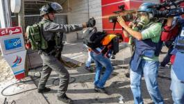 الاحتلال لا يزال يمارس أقسى الانتهاكات بحق الصحفيين