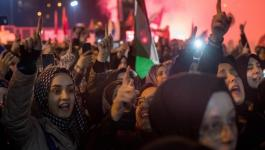 مظاهرات تعم مخيمات فلسطين بسورية رفضًا لقرار ترمب