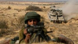 مناورات لجيش الاحتلال في