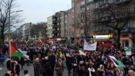 مسيرة ضخمة وسط برلين دعما للقدس وتنديدا بالقرار الأميركي