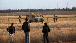إحباط محاولة تسلل لـ 3 أشخاص السياج الفاصل شرق غزة