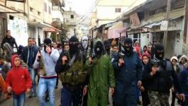 7 من مطلوبي مخيم بلاطة يسلمون أنفسهم لجهاز المخابرات