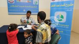 بالصور: المجلس العلمي ينفذ مشروع كسوة العيد بتمويل من جمعية دار البر بدبي
