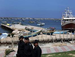 ميناء غزة