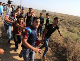 3 إصابات باستهداف طائرات الاحتلال مجموعة شبان شرق البريج