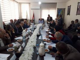 بالصور: هذا ما جاء في اجتماع اللجنة الوطنية العليا لإحياء ذكرى النكبة!
