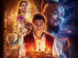 فيلم Aladdin يقترب من تصدر شباك التذاكر نهاية الأسبوع