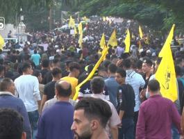 شاهد: الآلاف يُحيون ذكرى استشهاد الزعيم ياسر عرفات بغزّة