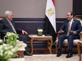 السيسي والرئيس عباس