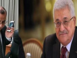 الرئيس عباس وملحم