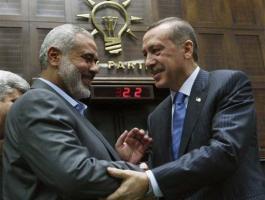 اردوغان وهنية